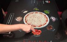 Pizza Hut prépare le futur : la table tactile