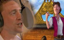 Tom Hiddleston chante pour le prochain Disney !