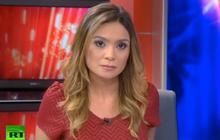 Une présentatrice de Russia Today démissionne à l'antenne en signe de protestation