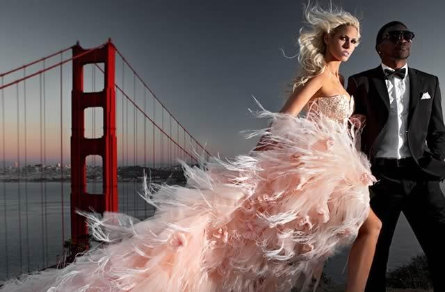 Le faire-part de mariage le plus bling-bling du monde