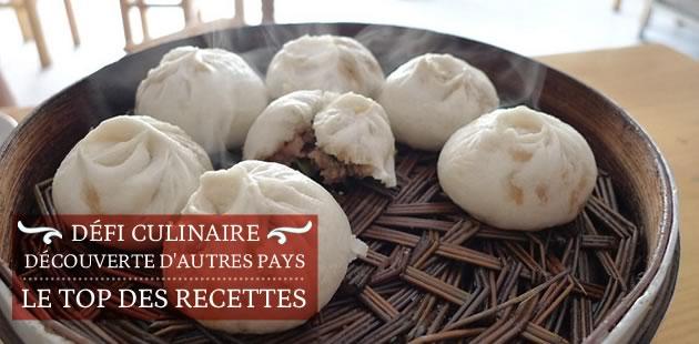 Défi culinaire « découverte d'autres pays » : le top des recettes !