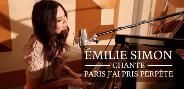 Emilie Simon chante « Paris j'ai pris perpète » en acoustique