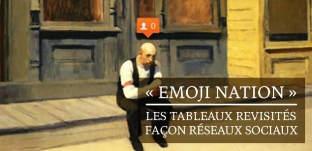 «Emoji Nation », les tableaux revisités façon réseaux sociaux