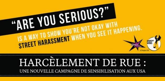 Harcèlement de rue : une campagne de sensibilisation aux USA