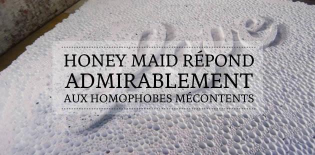 Homophobie : la géniale réponse de Honey Maid