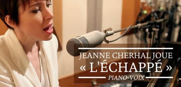 Jeanne Cherhal joue « L'échappé » en piano-voix