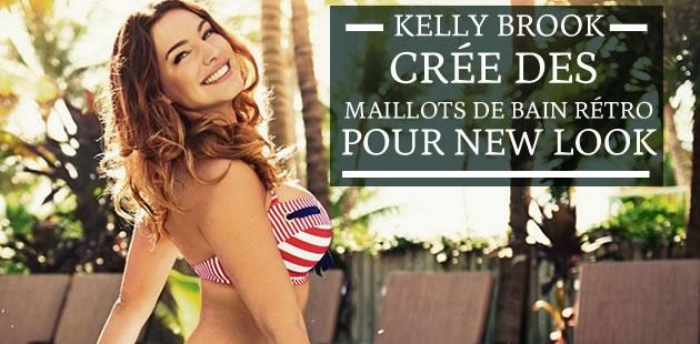Kelly Brook crée des maillots de bain rétro pour New Look