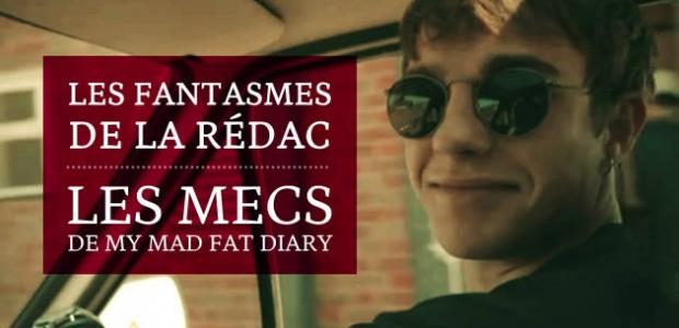 Les mecs de My Mad Fat Diary — Les fantasmes de la rédac