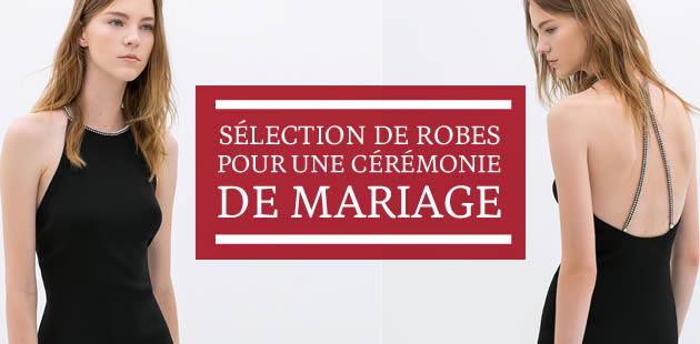 Sélection de robes pour une cérémonie de mariage