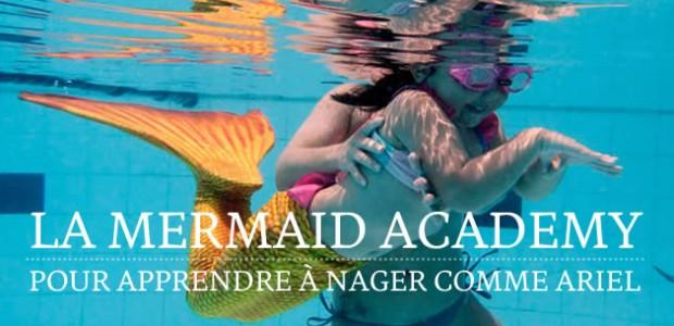 La Mermaid Academy, pour apprendre à nager comme Ariel
