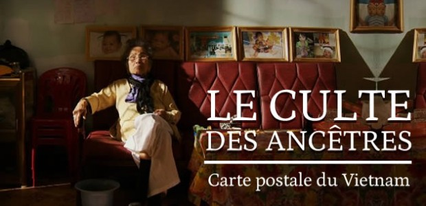 Le culte des ancêtres — Carte postale du Vietnam