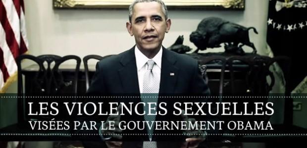 Les violences sexuelles visées par le gouvernement Obama
