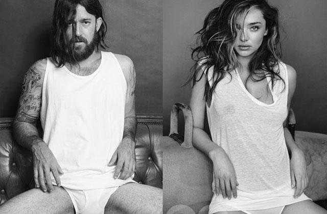 Les Bondi Hipsters parodient le shooting de Miranda Kerr pour GQ