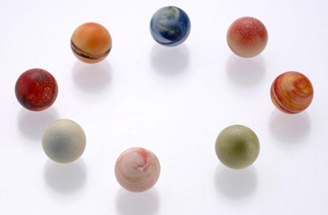 Des chocolats pour réviser les planètes du système solaire