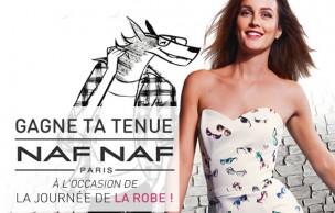 Lien permanent vers Un concours pour fêter la Journée de la Robe Naf Naf !
