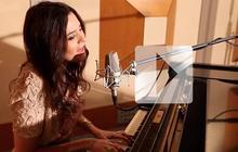 Emilie Simon chante «Paris j'ai pris perpète »en acoustique