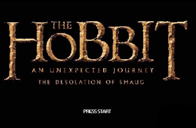 Le Hobbit en 8-bits : vive le pixel épique !