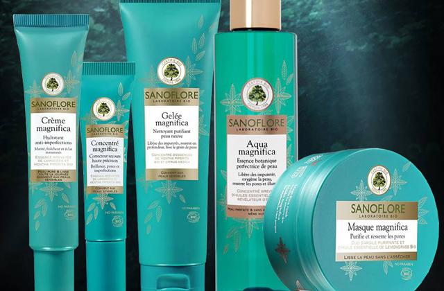 Magnifica, la nouvelle gamme anti-imperfections de Sanoflore