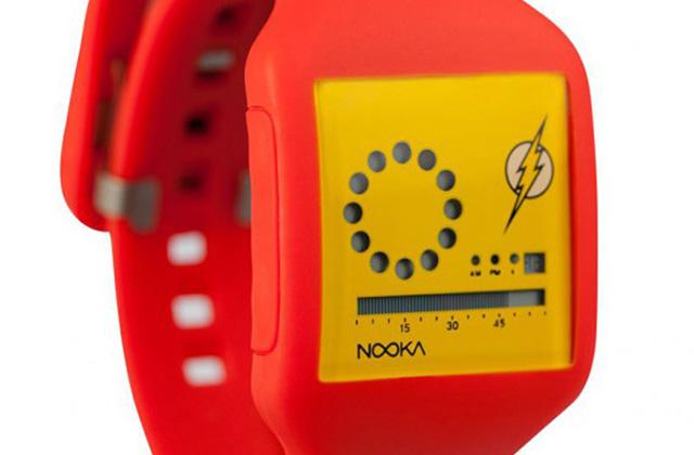 La Ligue des Justiciers à l'honneur sur des montres Nooka