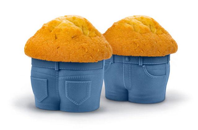 Le moule à muffins qui célèbre les poignées d'amour