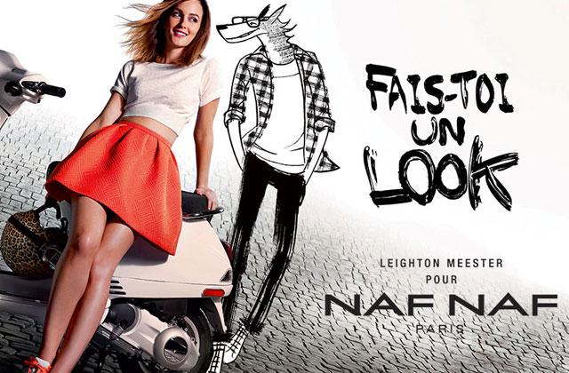 Leighton Meester pour Naf Naf : la campagne dévoilée