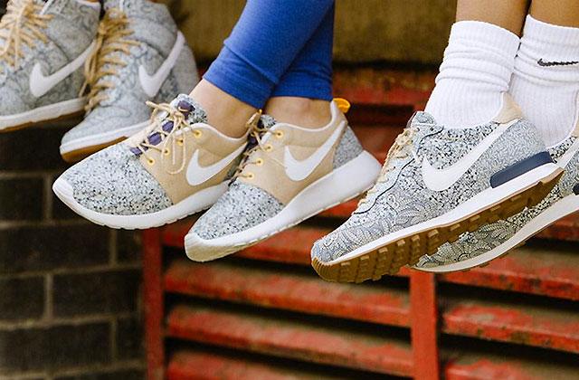 Nike et Liberty London lancent une nouvelle collection de sneakers