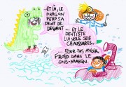 Pénélope Bagieu et les enfants : la dose de mignonnitude du jour