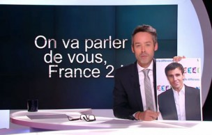 Lien permanent vers Le Petit Journal interpelle David Pujadas et Marine Le Pen