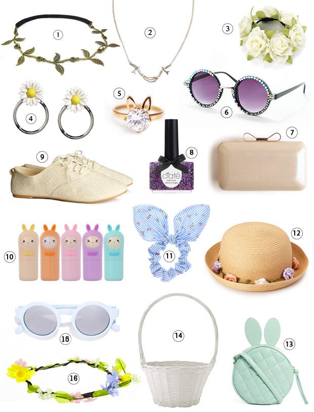 La sélection shopping spéciale accessoires de Pâques