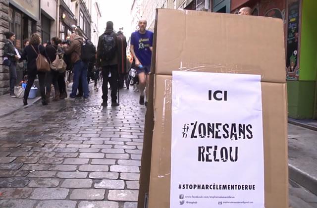« Stop harcèlement de rue» inaugure une « zone sans relou » à Paris