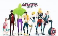 Les super-héros façon rock stars