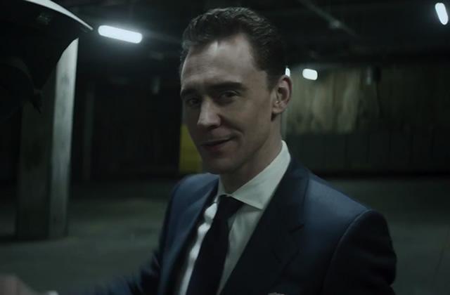 Tom Hiddleston, Ben Kingsley et Mark Strong dans une pub pour Jaguar