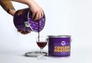 Du vin dans des pots de peinture — WTF Design