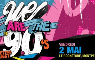Lien permanent vers 5×2 places à gagner pour la We Are The 90′s du 2 mai à Montpellier !