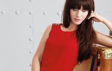 Zooey Deschanel crée une mini-collection de robes pour Tommy Hilfiger