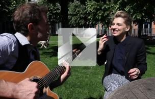 Lien permanent vers Amandine Bourgeois reprend « Ma gueule » en acoustique