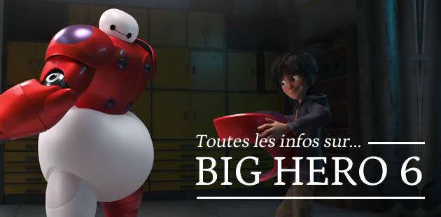 Big Hero 6, le prochain Disney : un extrait est en ligne !