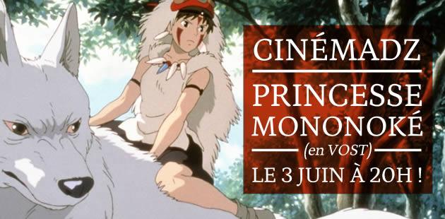 CinemadZ Paris — Princesse Mononoké en VOST le 3 juin au MK2 !