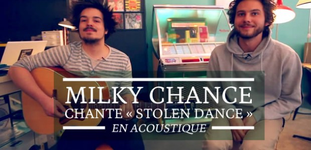 Milky Chance chante « Stolen Dance » en acoustique