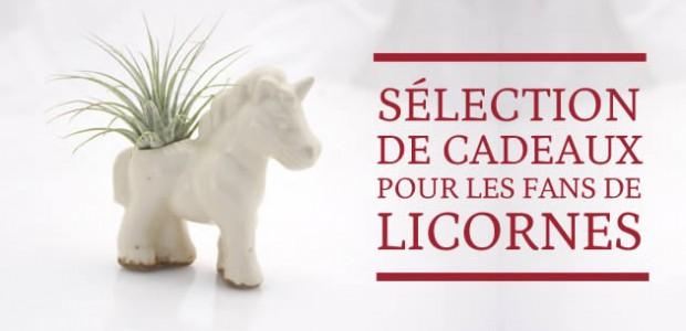 Sélection de cadeaux pour les fans de licornes