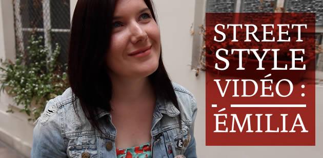 Street style — Émilia et ses renards