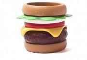 Les bracelets hamburger, pour mettre du gras à ton poignet