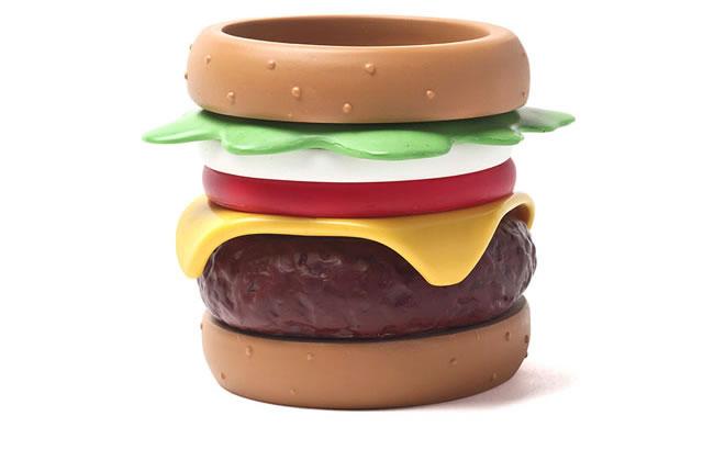 les bracelets hamburger  pour mettre du gras  u00e0 ton poignet