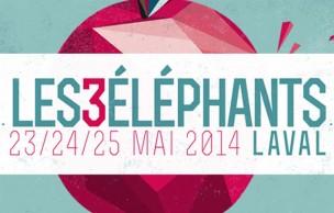 Lien permanent vers 5 pass week-end et 10 compilations du festival Les 3 Éléphants à gagner !