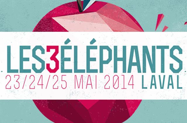 5 pass week-end et 10 compilations du festival Les 3 Éléphants à gagner !