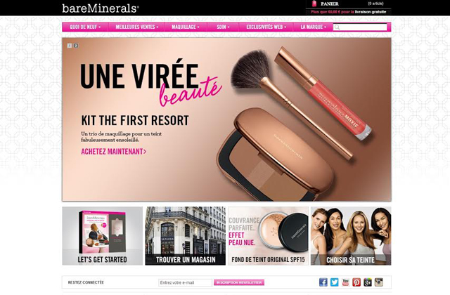 bareMinerals vous invite à une soirée exceptionnelle autour du maquillage