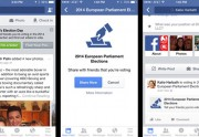 Facebook lance une application « Je Vote » pour les Européennes