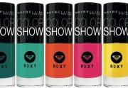 Gemey-Maybelline et Roxy s'associent pour une collection de vernis