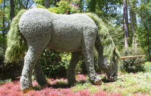 Lien permanent vers Imaginary World, l'exposition botanique avec des licornes dedans