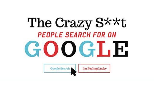 Les recherches Google étranges regroupées en une infographie